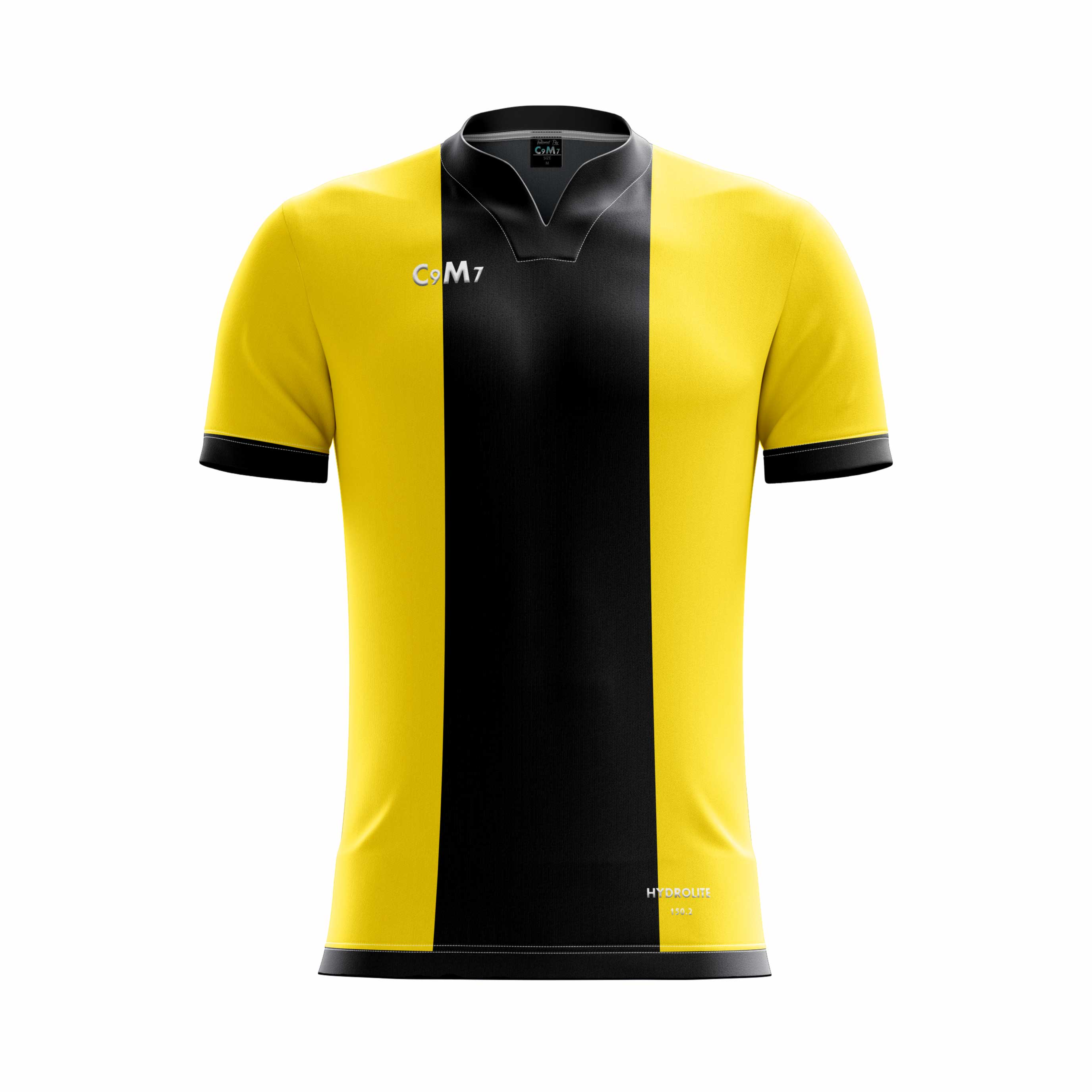 black and yellow football jersey